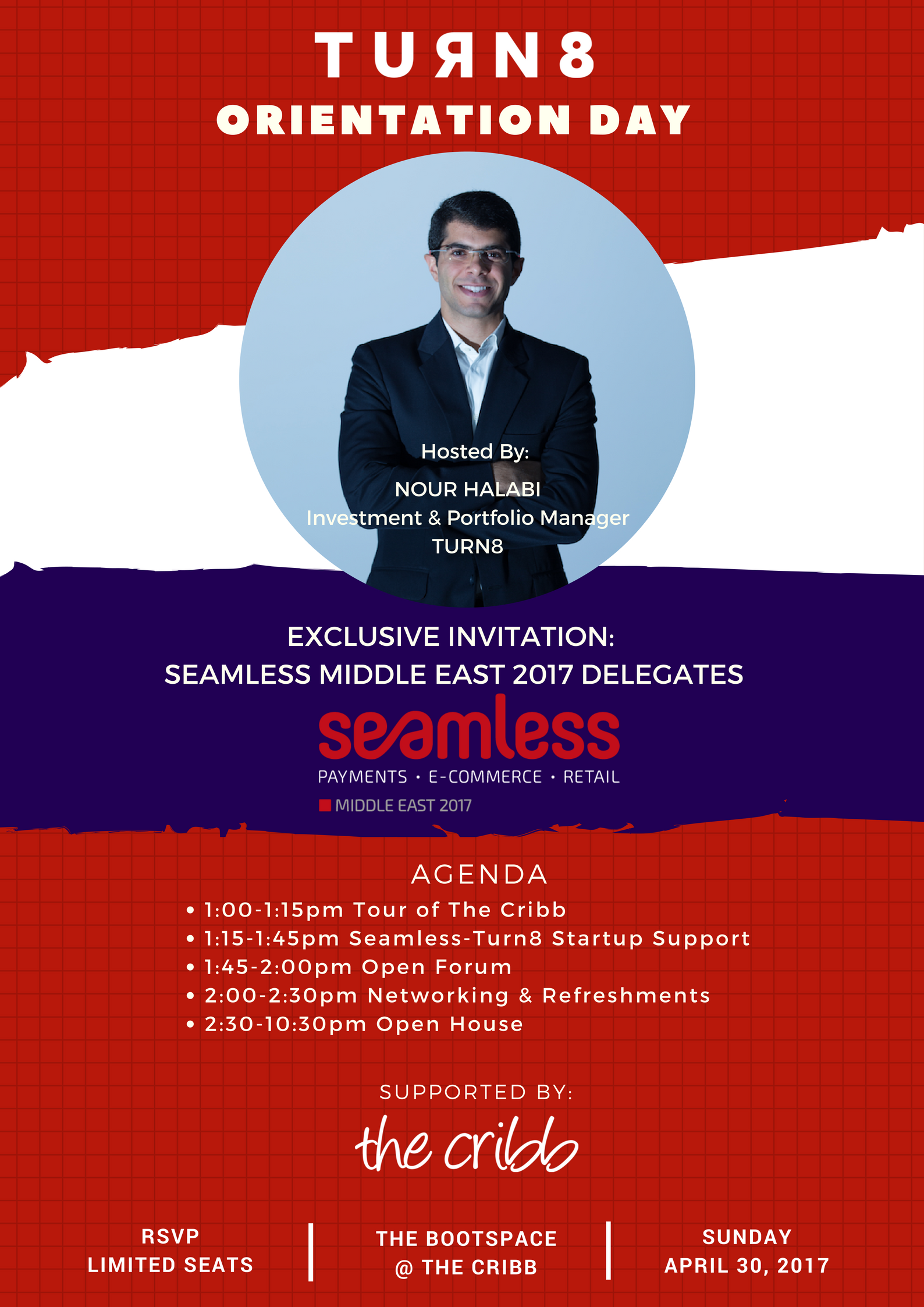 Turn8 Orientation Day & Open House: Exclusive Invitation to Seamless ME 2017 Delegates